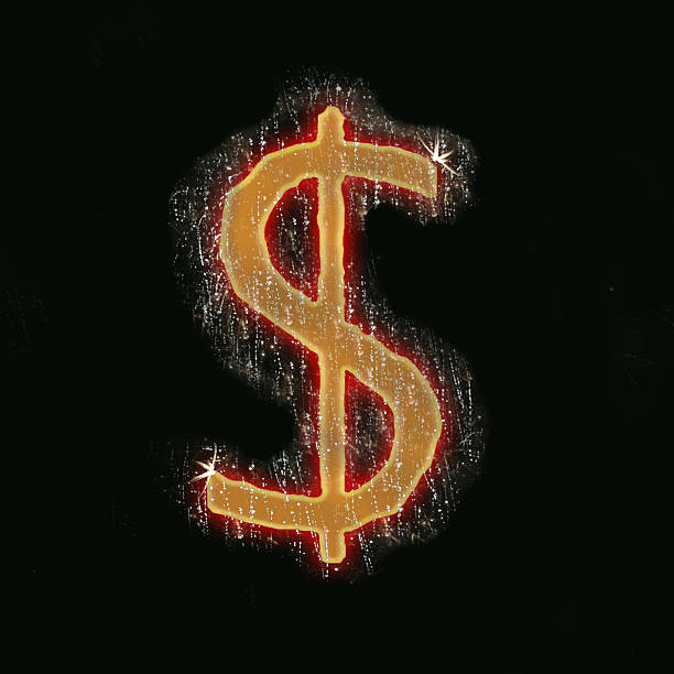 Royalty Free Dollar Sign On Fire Pictures, Images And