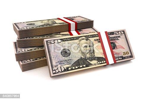 istock Dollars Stack 540857954
