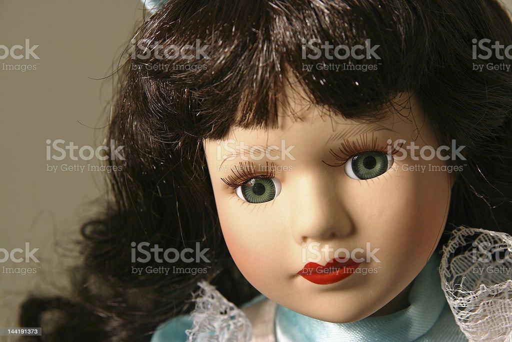 Dollface 2 royalty-free stock photo