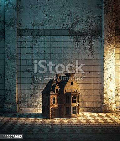 istock Dollhouse 1129578662