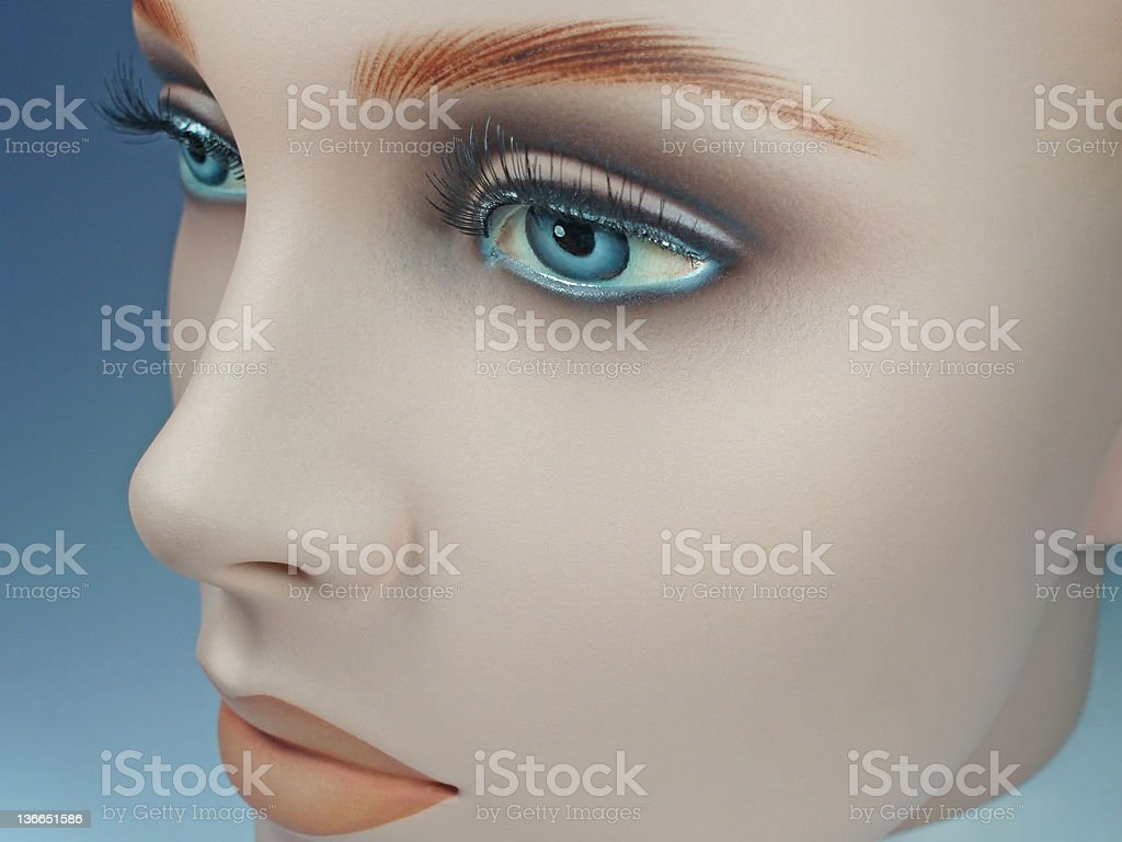 doll´s face royalty-free stock photo