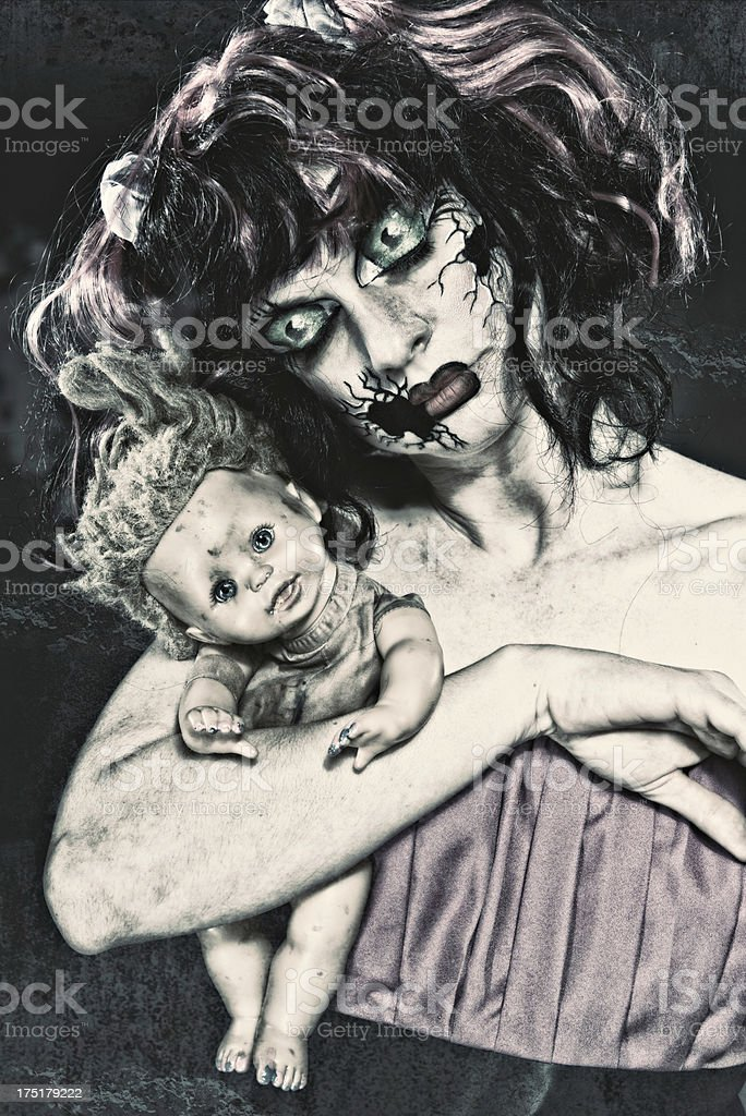 Dolls royalty-free stock photo