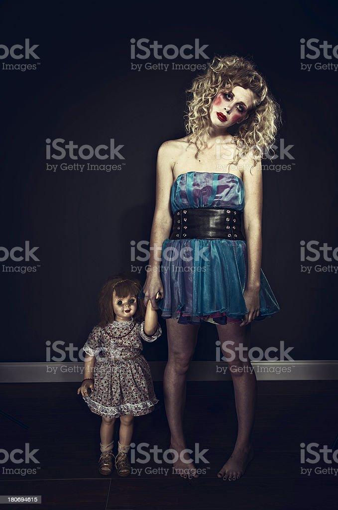 Dolls royalty-free stock photo