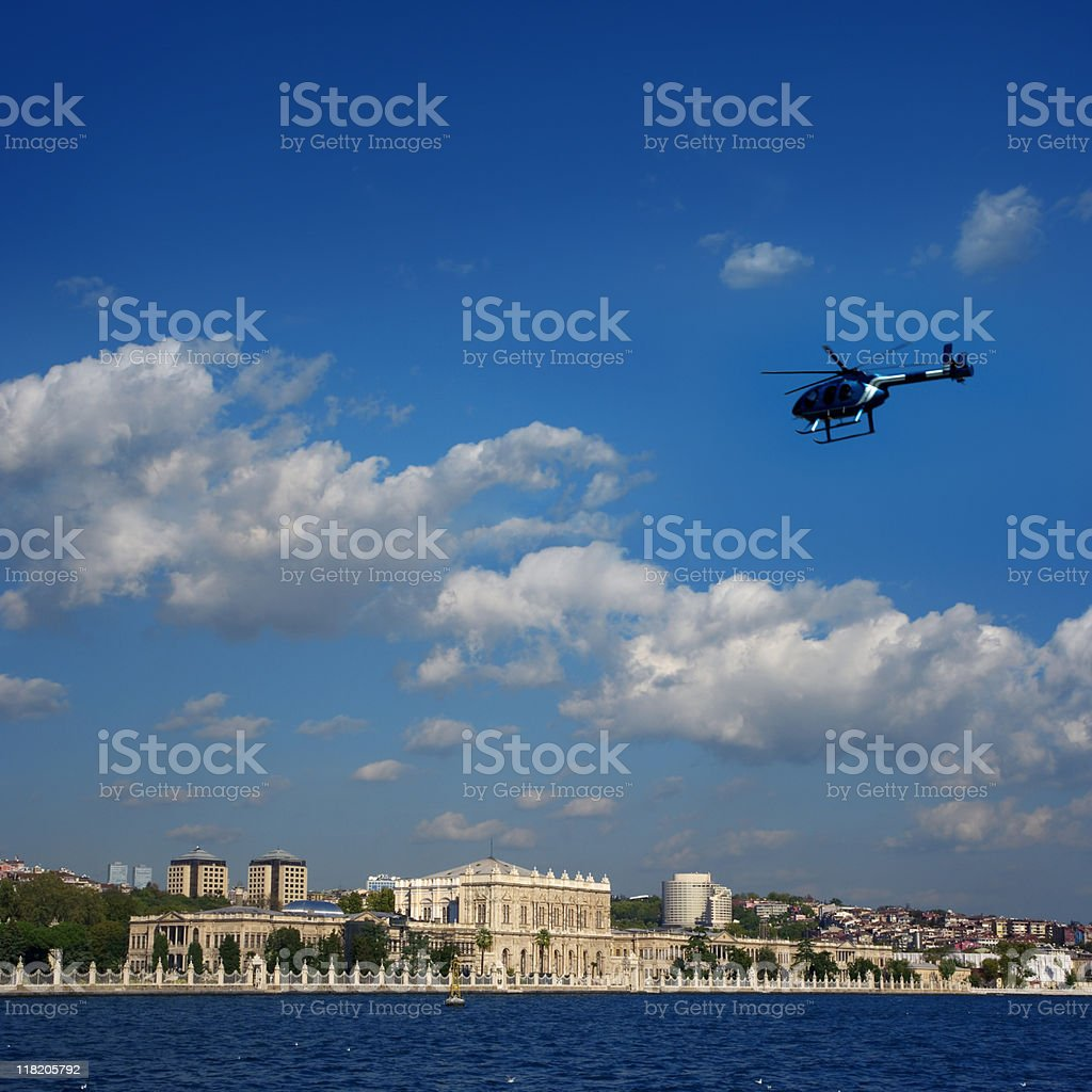 Dolmabahce Palace istanbul royalty-free stock photo