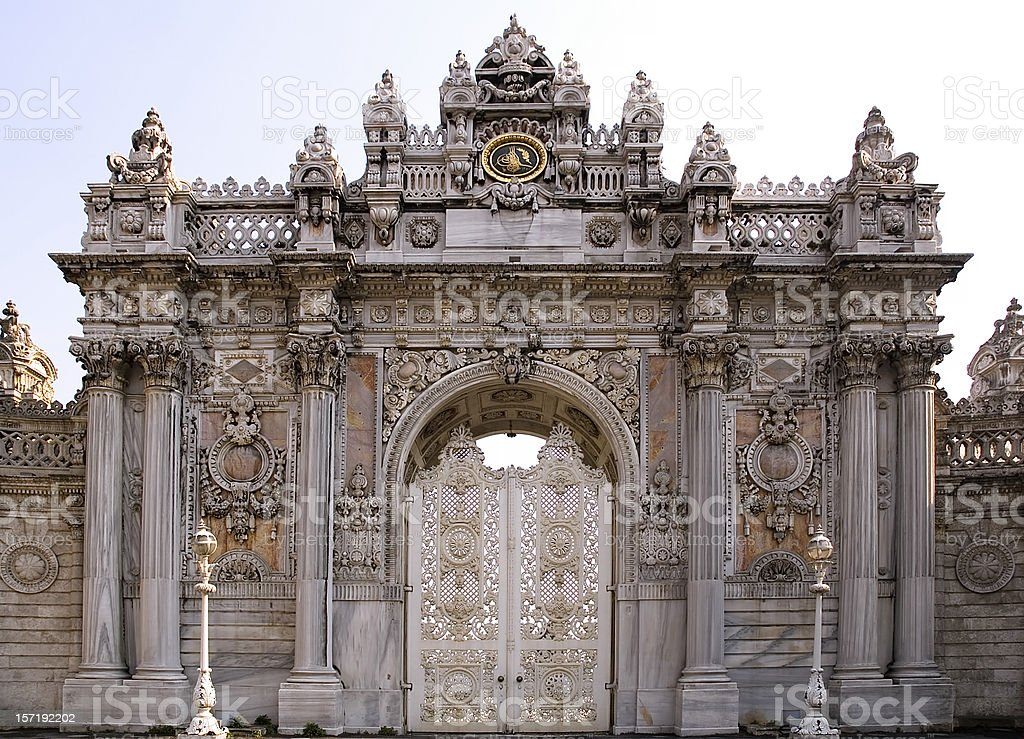 Dolmabahce Palace stock photo