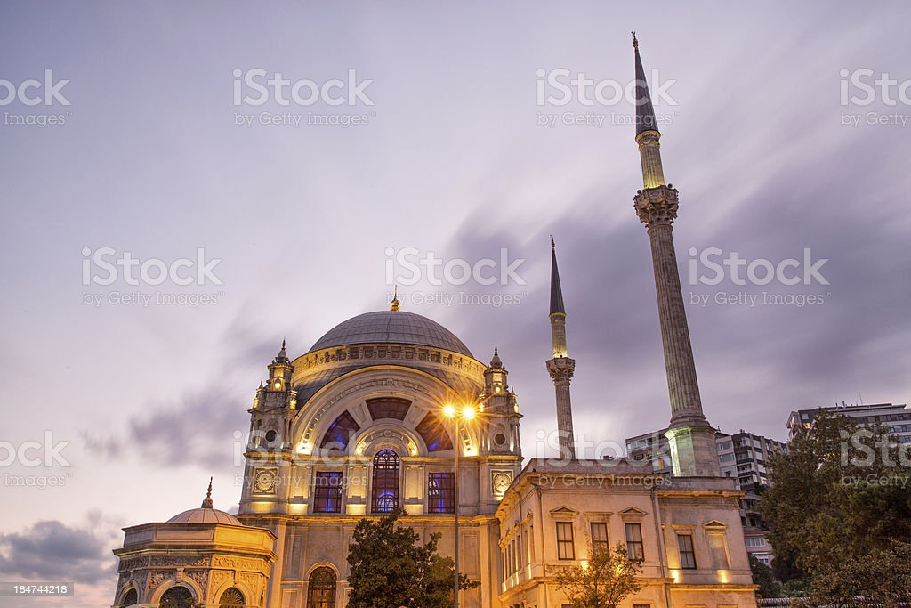 Dolmabahçe Mosque stock photo