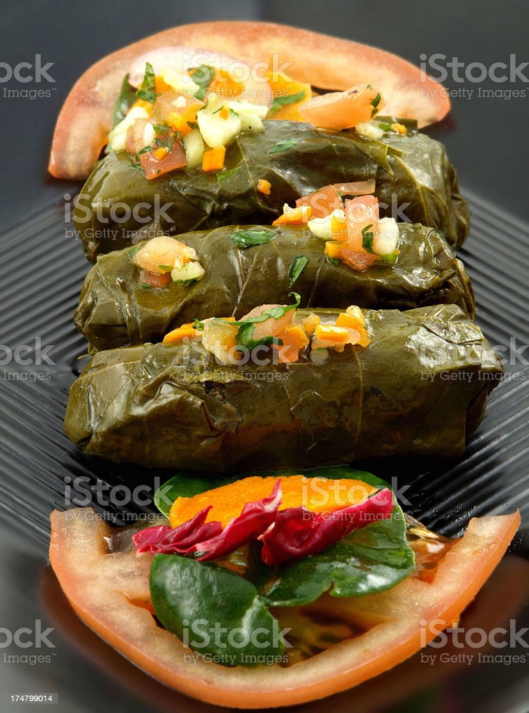 Dolmades royalty-free stock photo