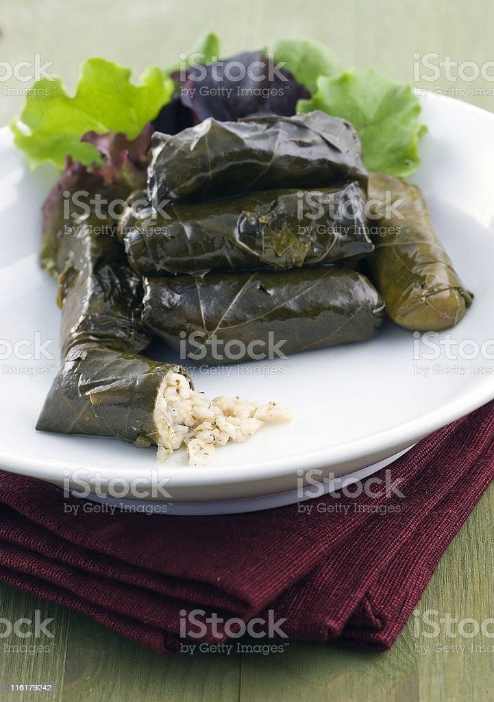 Dolmas royalty-free stock photo