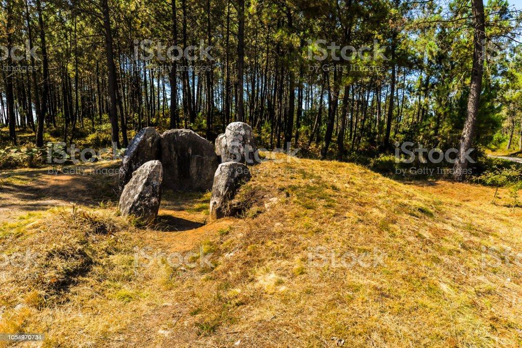 Dolmen - Galicia - foto de stock