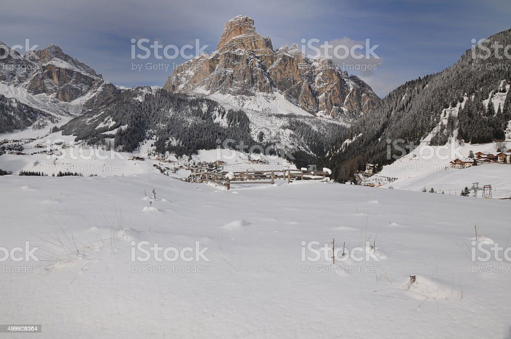 Dolomite stock photo