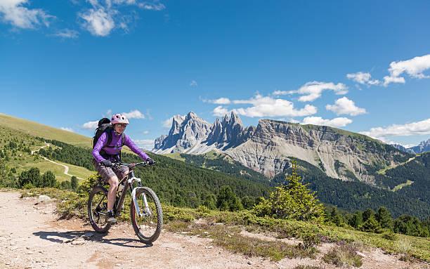 Dolomite Sommer Mountainbiking, Italien – Foto