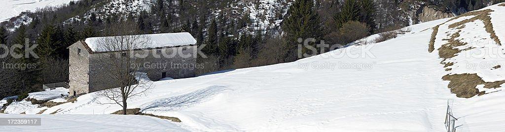 Dolomites. Color Image royalty-free stock photo