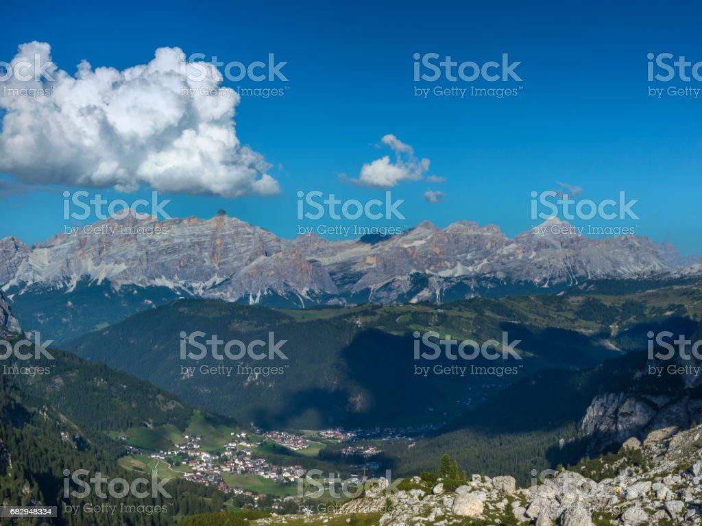 Dolomites in Italy royalty-free stock photo
