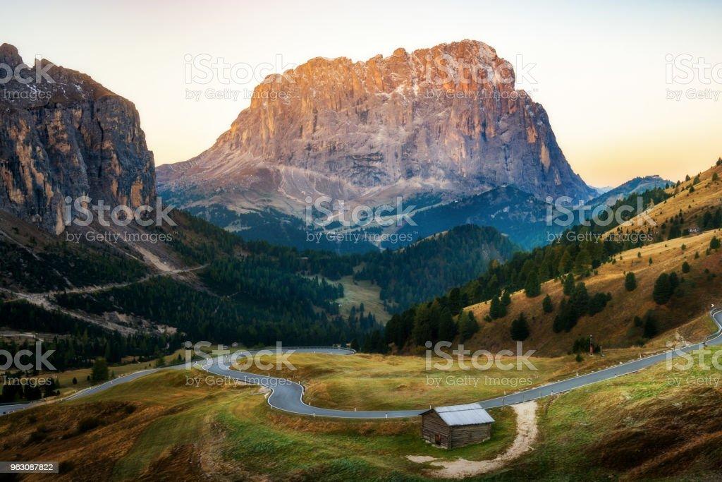 Dolomiten Italien Landschaft - Langkofel Langkofel – Foto