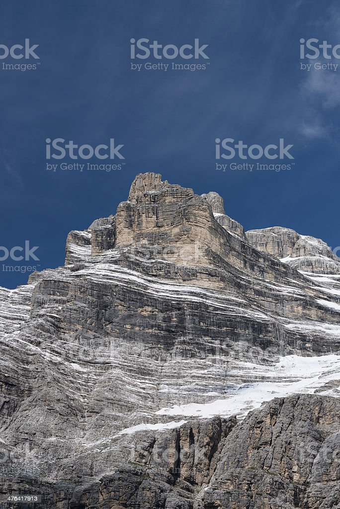Dolomites, Italy, Mt Pelmo stock photo