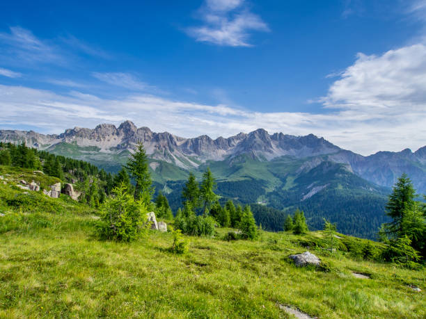 Dolomites - Italy stock photo