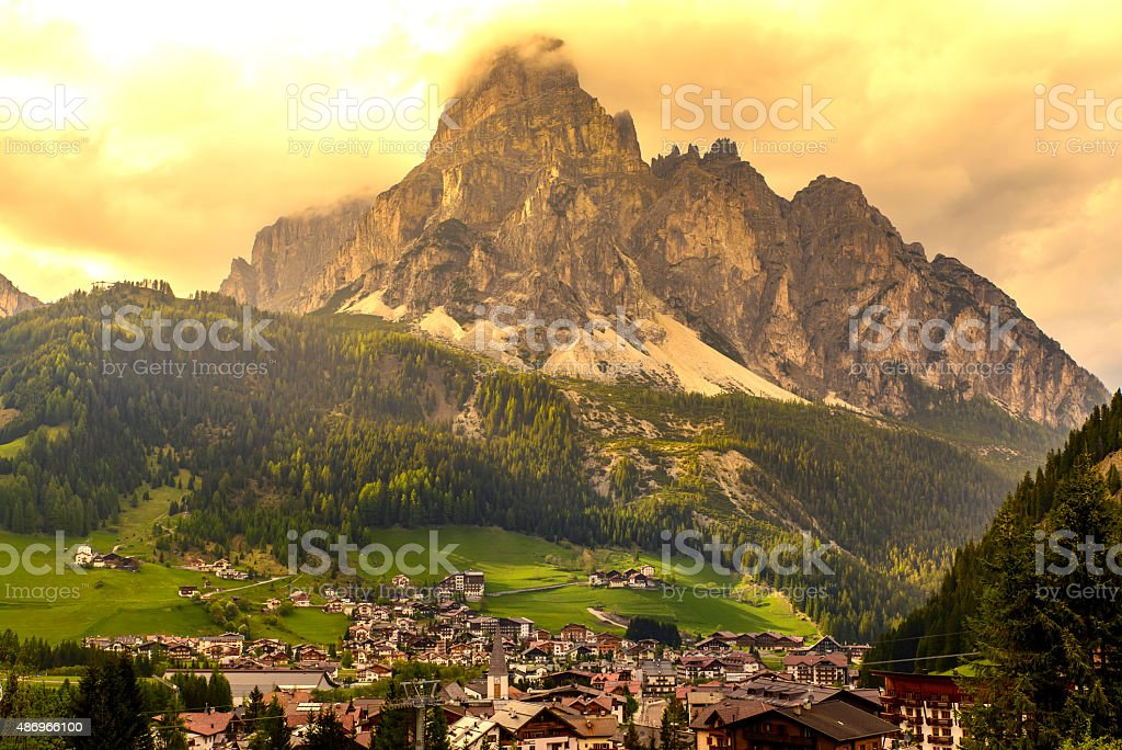 Dolomites, Italy stock photo
