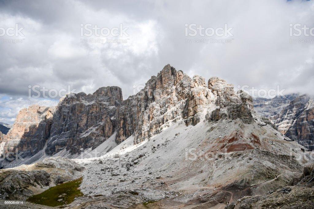 Dolomites italy stock photo
