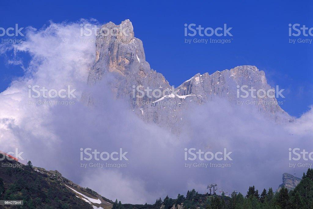 Dolomites , Italy royalty-free stock photo
