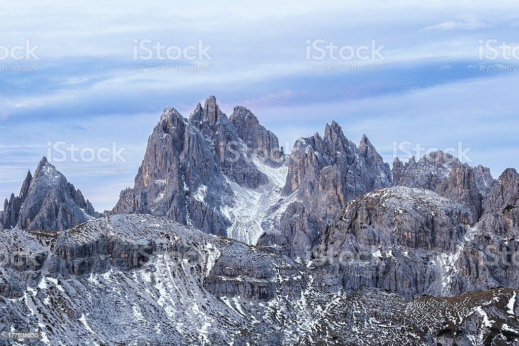 Dolomites mountain royalty-free stock photo