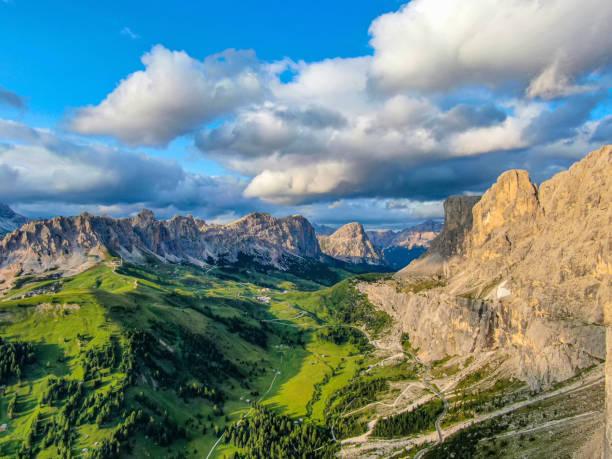 Dolomieten in de Gardena-pas Italië foto