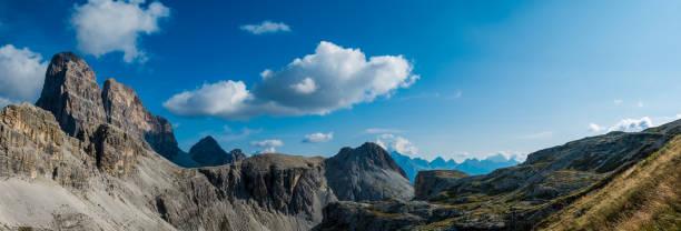 Dolomites mountains south tyrol panorama stock photo