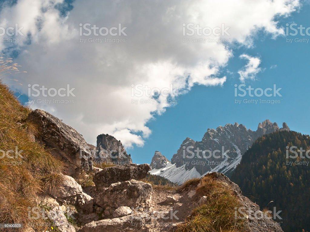 Dolomiten nahe Selva – Foto