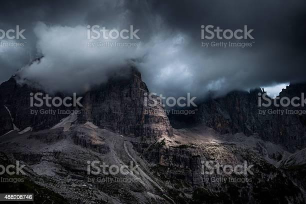 Photo of Dolomites of Brenta Rock Wall, Italy