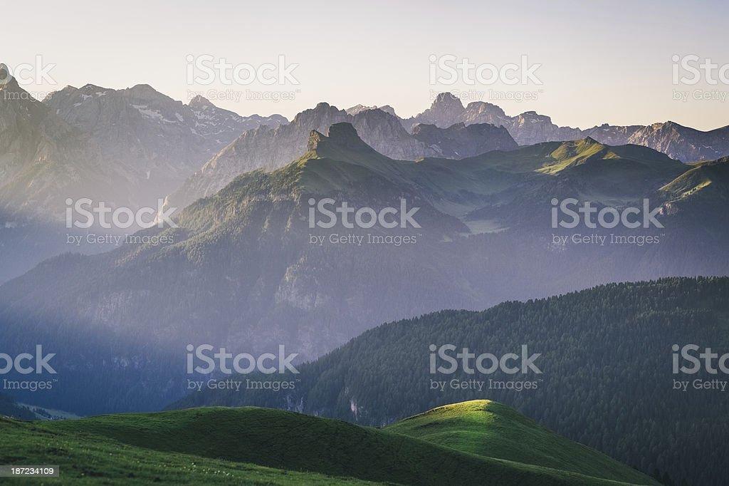 Dolomites, Trentino-Alto Adige, Italy royalty-free stock photo