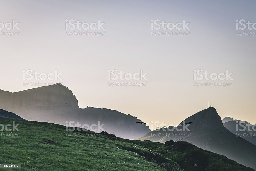 Dolomites, Trentino-Alto Adige, Italy royalty-free stock photo