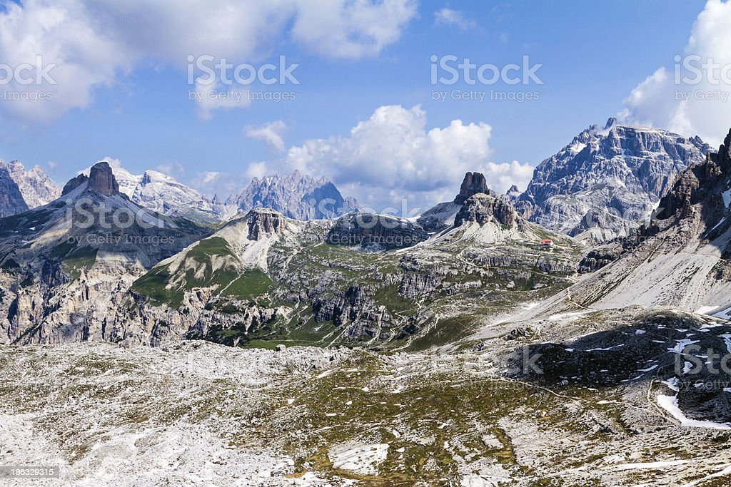 Dolomites, Veneto, Italy royalty-free stock photo