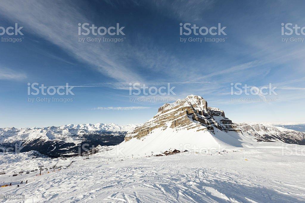 Dolomiti - Madonna di Campiglio stock photo
