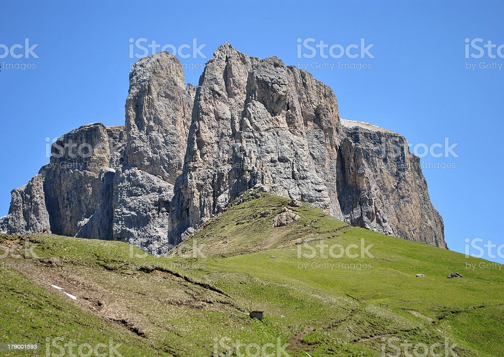Dolomiti mountains royalty-free stock photo
