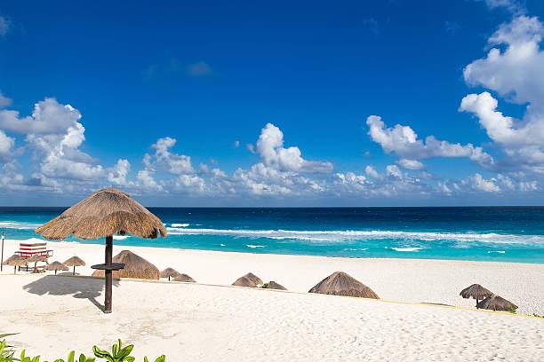 Playa Delfines stock photo