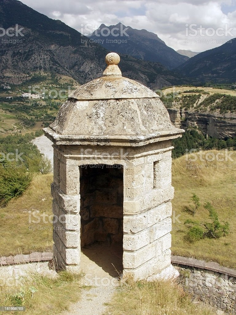 mont dauphin royalty-free stock photo