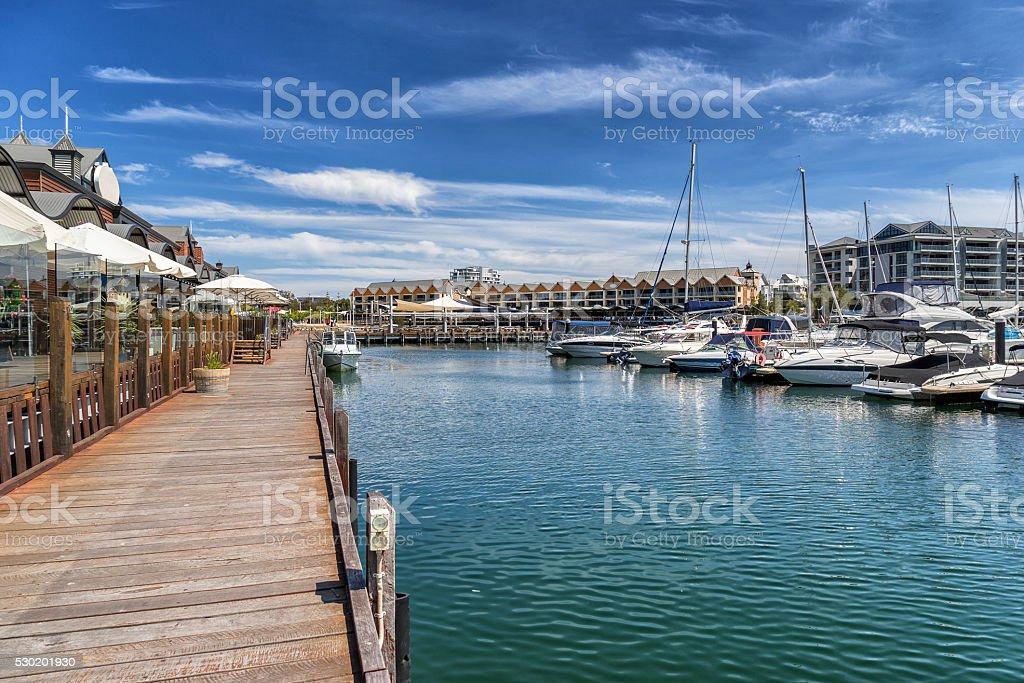 Dolphin Quay stock photo