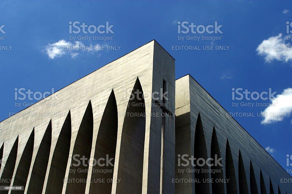 Dom Bosco Igreja em Brasília, Brasil - foto de acervo