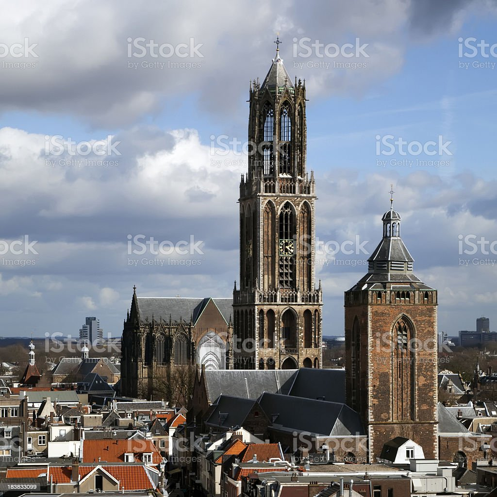Dom Cathedral of Utrecht, The Netherlands (XL) stock photo