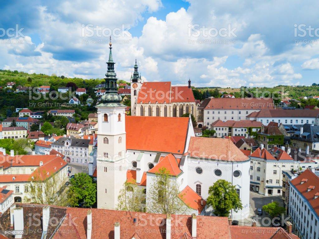 Dom Der Wachau, Krems stock photo