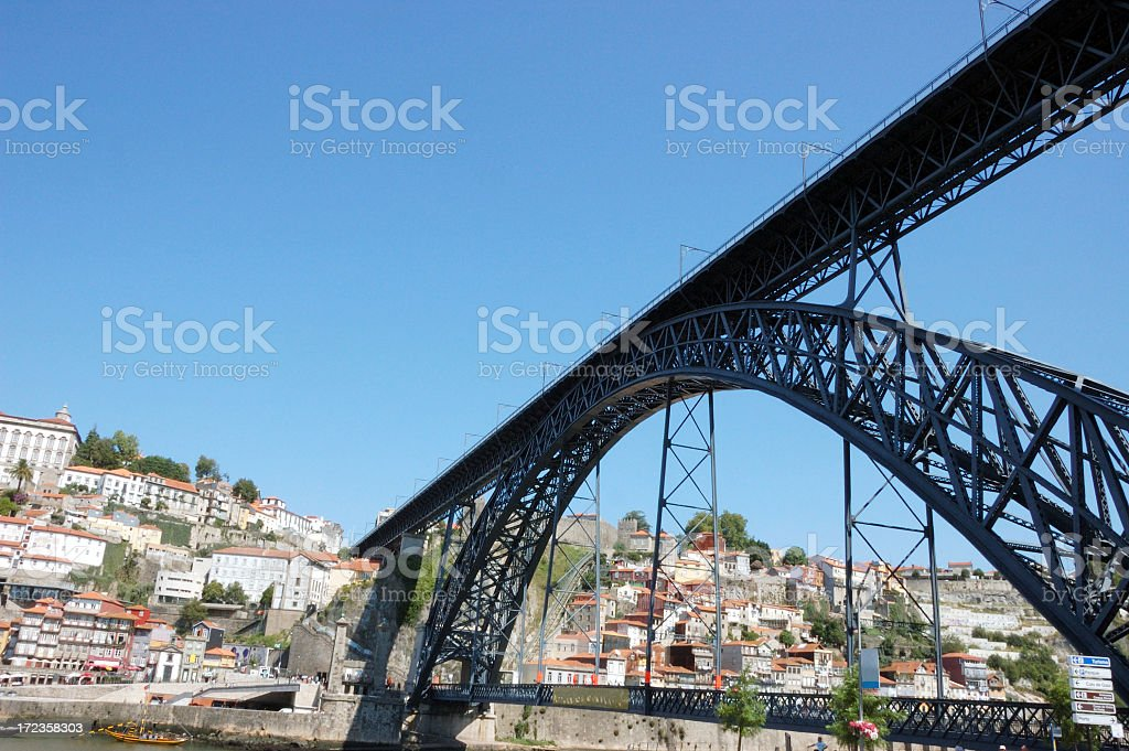 Dom Luís bridge royalty-free stock photo