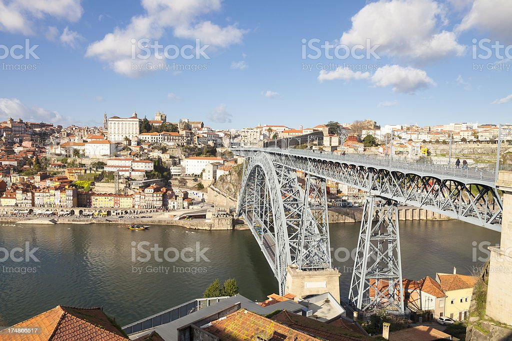 Dom Luis I Bridge royalty-free stock photo