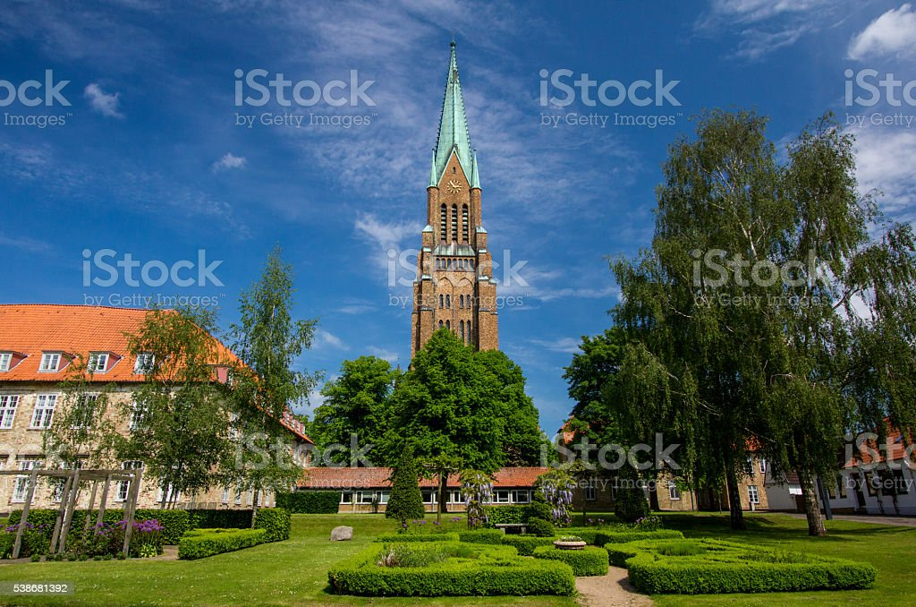 Dom of Schleswig in Schleswig-Holstein, Germany!!! stock photo