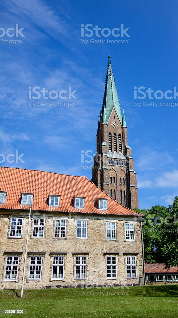 Dom of Schleswig in Schleswig-Holstein, Germany!! stock photo