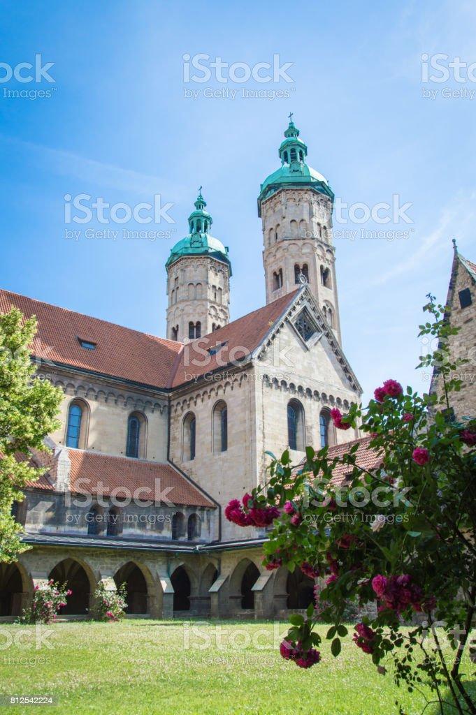 Dom zu Naumburg, Cathedral of German city Naumburg, Germany stock photo