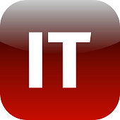 IT domain icon - italy or information technology