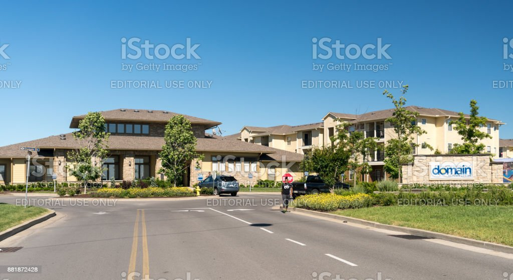 Domain student housing at West Virginia University stock photo