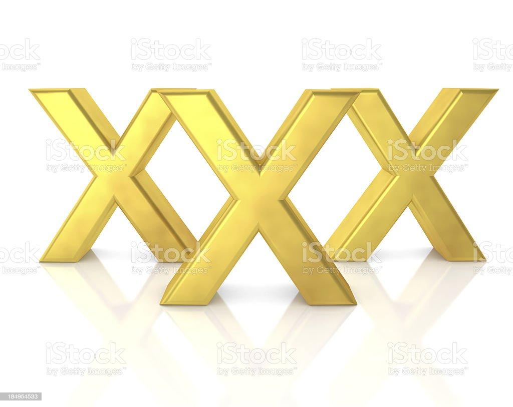 XXX Domains royalty-free stock photo
