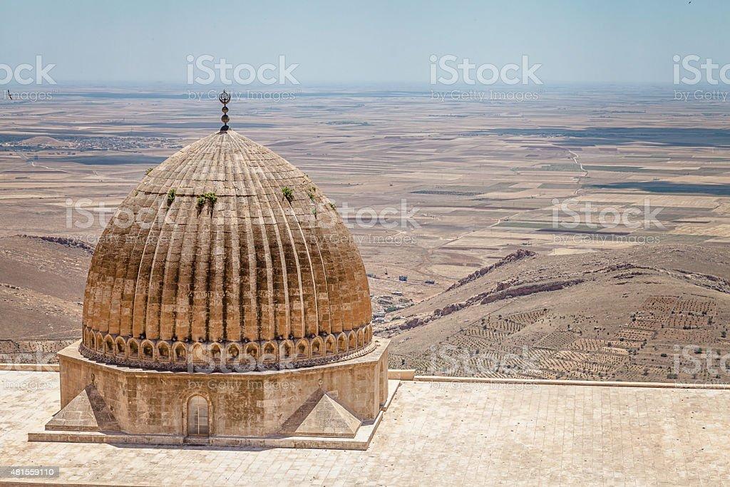 Dome and Mesopotomia stock photo