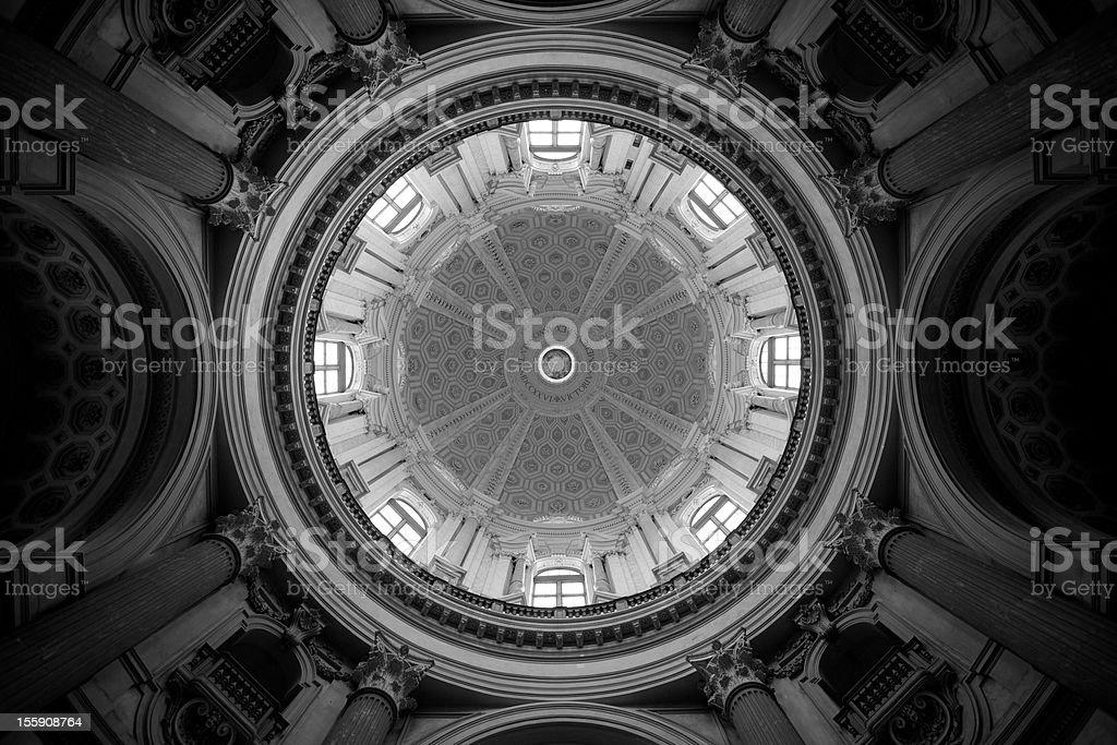 Dome, Basilica di Superga royalty-free stock photo