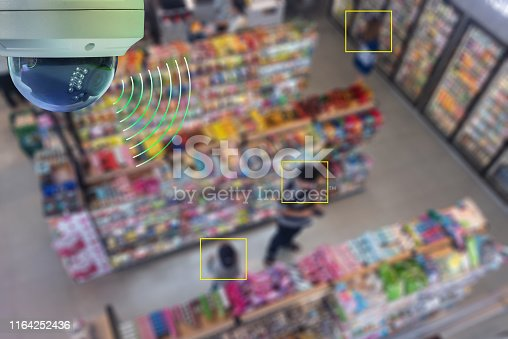 istock A Dome CCTV  infrared camera  technology 4.0 for look security area 1164252436